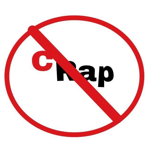 no crap